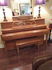 Great piano, you must get it moved before the end of the sale as the house closes right after the sale.