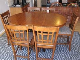 7-PC Oval Dinette Set