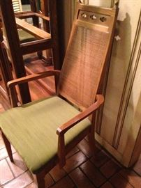 Host chair for the oval table