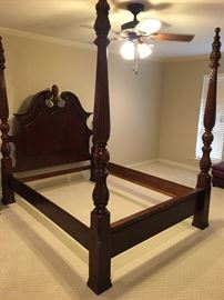 Grand four poster bed