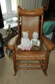 Precious Moments Dolls, JFK Rocking Chair
