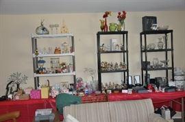 Living Room - Waterford, Hummels, Smalls, Decoratives