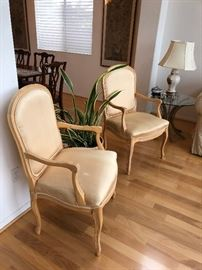 Pair of elegant Neutral Chairs