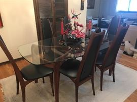 Adrian Pearsall dining room table and chairs