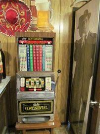 Bally Continental slot machine