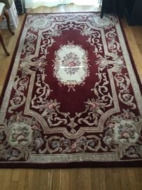 Dining Table with Wool Rug https://www.ctbids.com/#!/description/share/14375