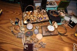 Assorted Jewelry in 14K & Costume Jewels