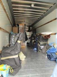Loading the BIG truck!