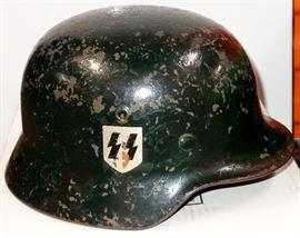 GERMAN MILITARY WORLD WAR II SS HELMET