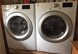 New Kenmore frontload washer and dryer