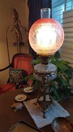 Rams Head Antique Lamp