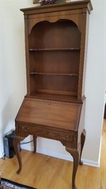 Slant Front Secretary/ Bookshelf