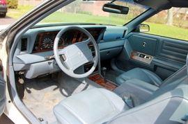 1989 Chrysler Lebaron Convertible