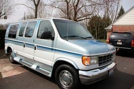 1994 Ford Econoline 150 Custom Van Only 64,000 miles
