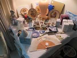 Hummel, Wedgwood, Goebel, nice collectibles