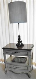 French Provincial style nightstand.