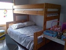 Bunk Beds Full Sz. Bottom &Twin Top