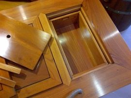 Authentic Japanese Dining/Tea/Coffee Table Interior Storage