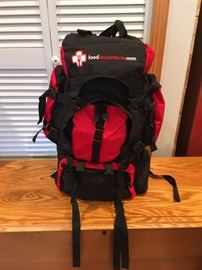 """""""New"""" Survival backpack with Food, Plates and various survival necessities"""
