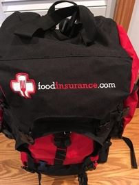 """""""New"""" Survival Backpack with Food and Various Necessities"""