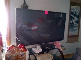 """62"""" LG/ HD /3D TV"""