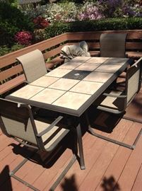 Outdoor Table / Chairs $ 240.00
