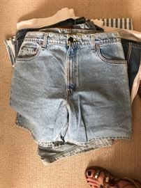 Acid Wash 1980's 1990's shorts
