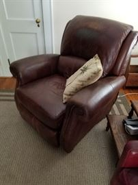 Italian Leather Recliner