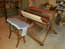 Vintage Weaving Machine