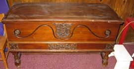 antique hope blanket chest
