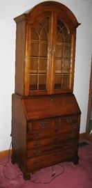 very nice oak secretary                                                                   BUY IT NOW  $ 365.00