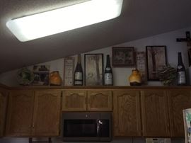 Decoration, Bottles, Pictures