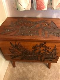 Asian Sewing Box