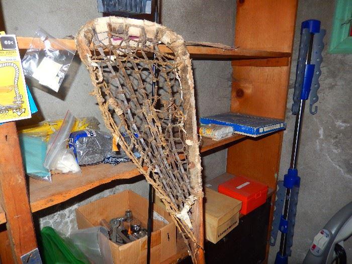 1960's Wooden Lacrosse stick