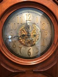Antique Victorian Memorial Grandfather Clock - Hand Made