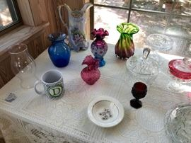 Signed Fenton Glass