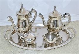 Silver Plate Tea / Coffee Set