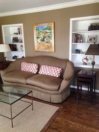 Edwin Pepper upholstered sofa
