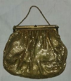 Vintage Women's Gold Mesh Purse