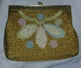Gold Women's Evening Bag