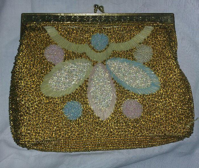 Gold Women's Evening Bag