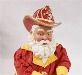 "Traditional Afro-American Santa 8.9""H- 713128 - 19 ..."