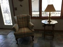 Wing back Chair BUY IT NOW $60