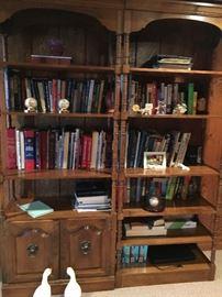 American Maple Book Cases, Books, No baseballs