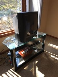 TV with TV stand Buy it now $80