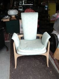 MID CENTURY CHAIR $395.00