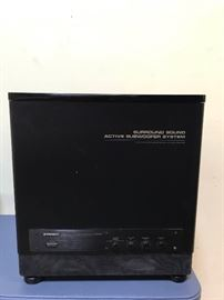 Pioneer Active Subwoofer System
