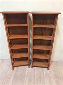 Solid Wood Bookshelves