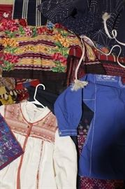 Hand-woven South American Garments