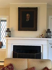 Portrait of John Lawrence Riker